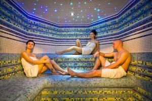 Bardejovske koupele saunovani