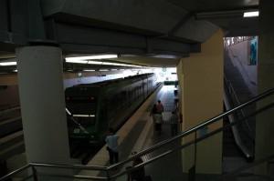 vlak z barcelony