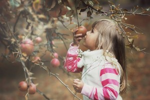 jablka a deti