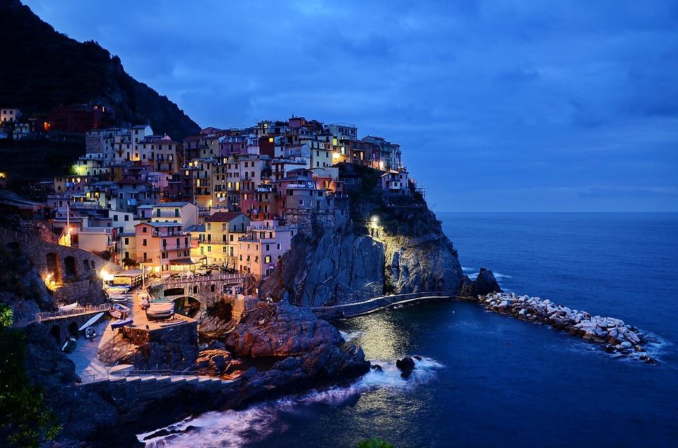 italie pobrezi dovolena