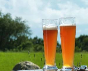 pivo venku
