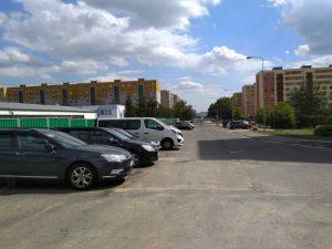 Parkování v ulici Svojsíkova