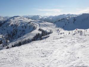Itálie v zimě