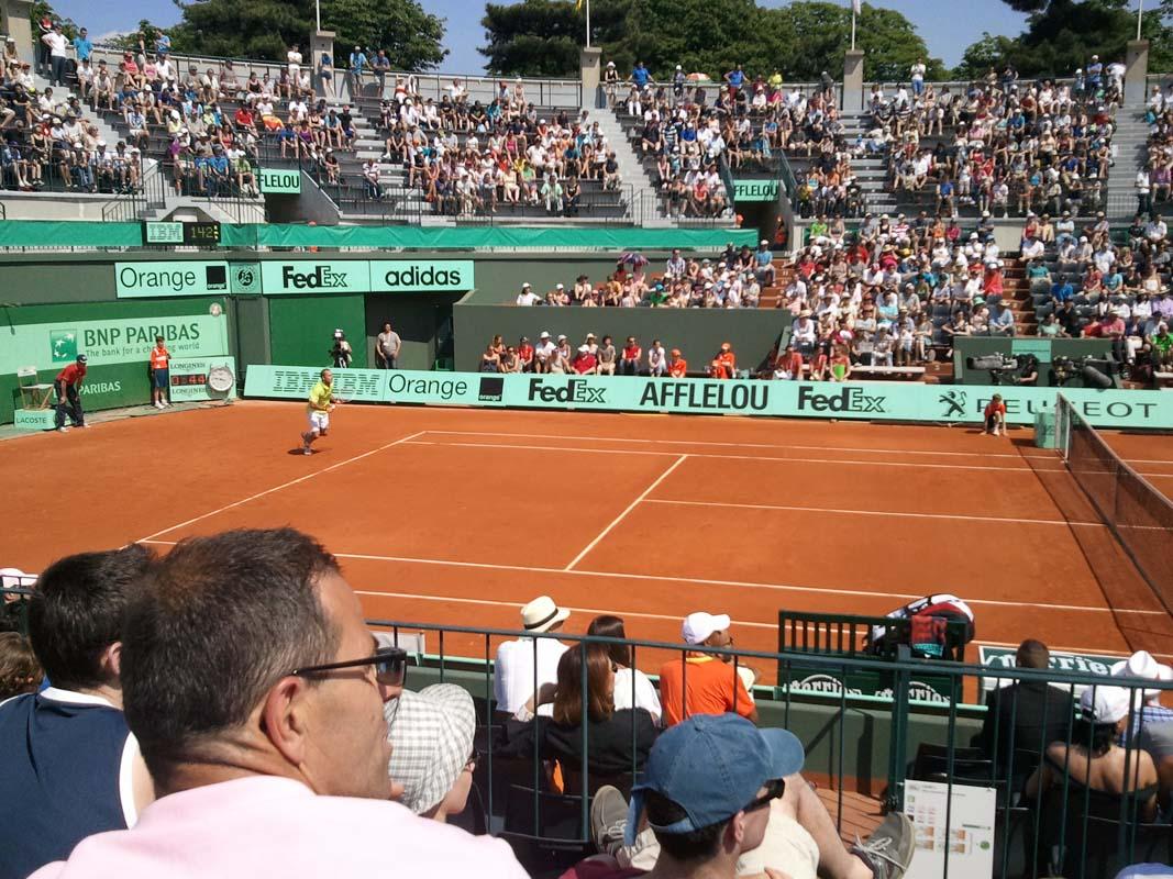 Tenisový stadion Rolanda Garrose