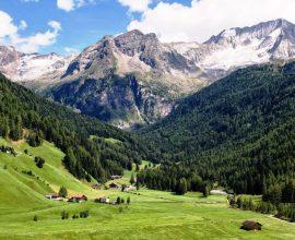 Netradiční dovolená na farmách v Jižním Tyrolsku