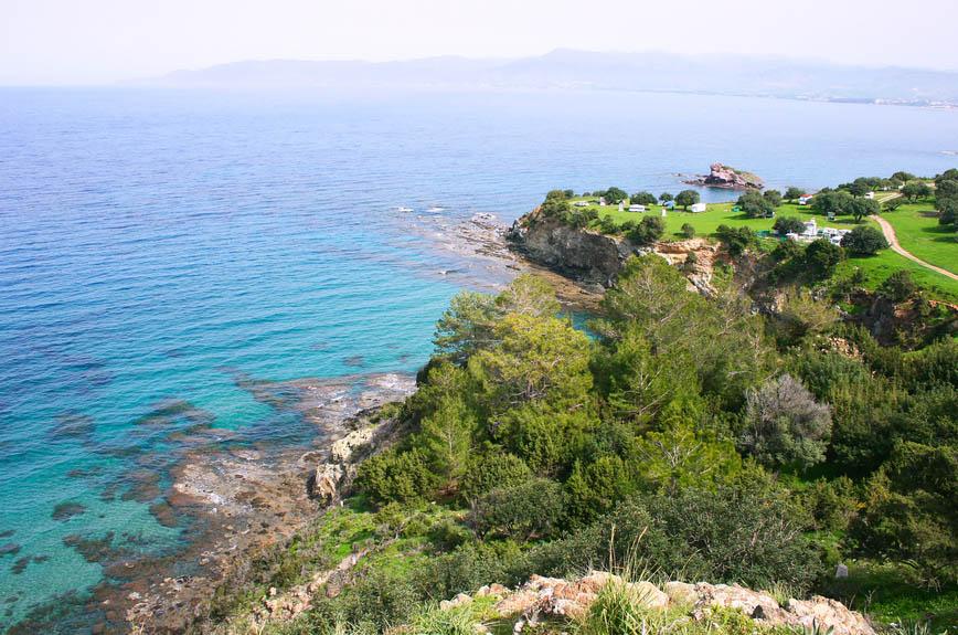 Poloostrov Akamas-nejzápadnější cíp ostrova Kypr