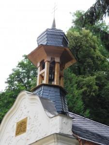 Zrekonstruovaná kaple sv. Alžběty v Luhačovicích