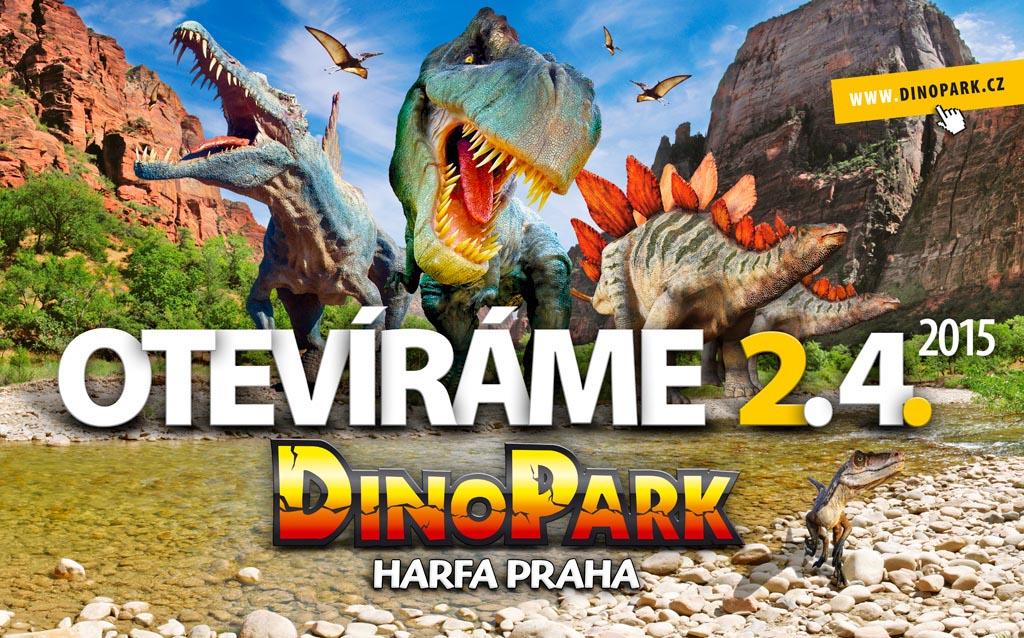 DinoPark v Galerii Harfa v pražských Vysočanech …