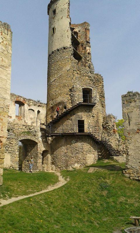 Zřícenina hradu Zvířetice u Mladé Boleslavi