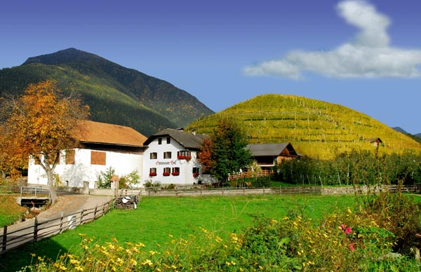 Dovolená na farmě Jižního Tyrolska
