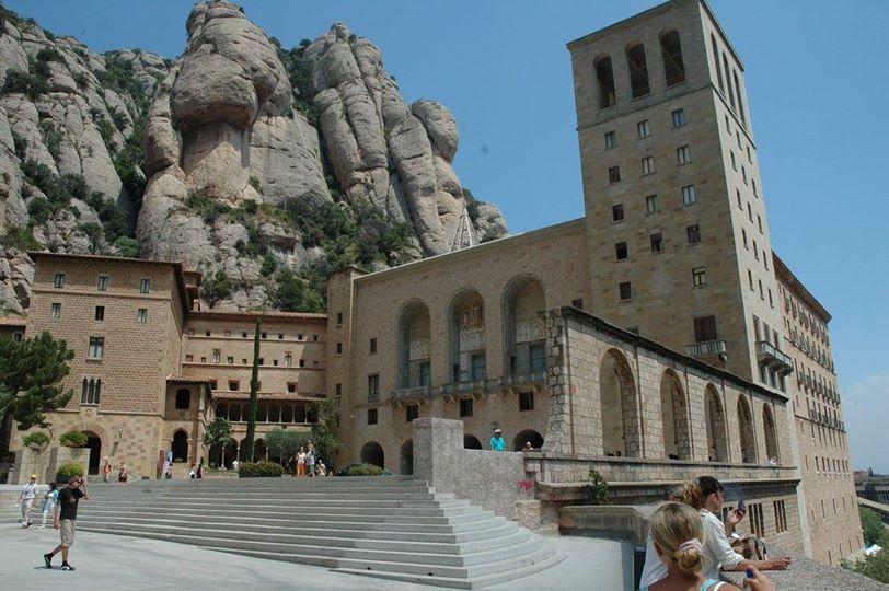 Montserrat-Zubatá hora kousek od Barcelony