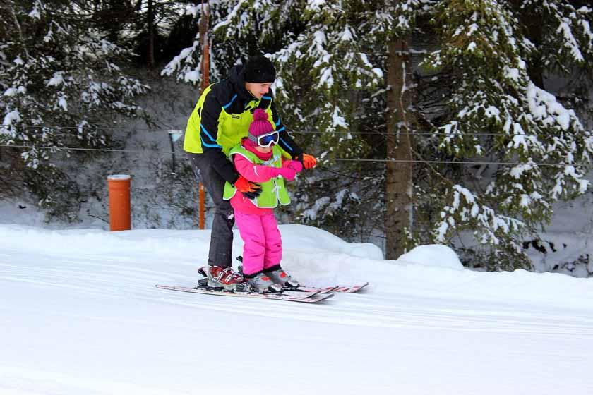 Jak učit děti lyžovat správně?