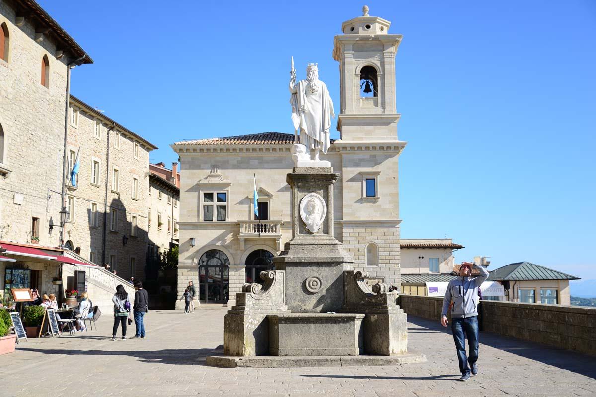Historické centrum San Marina v obrazech