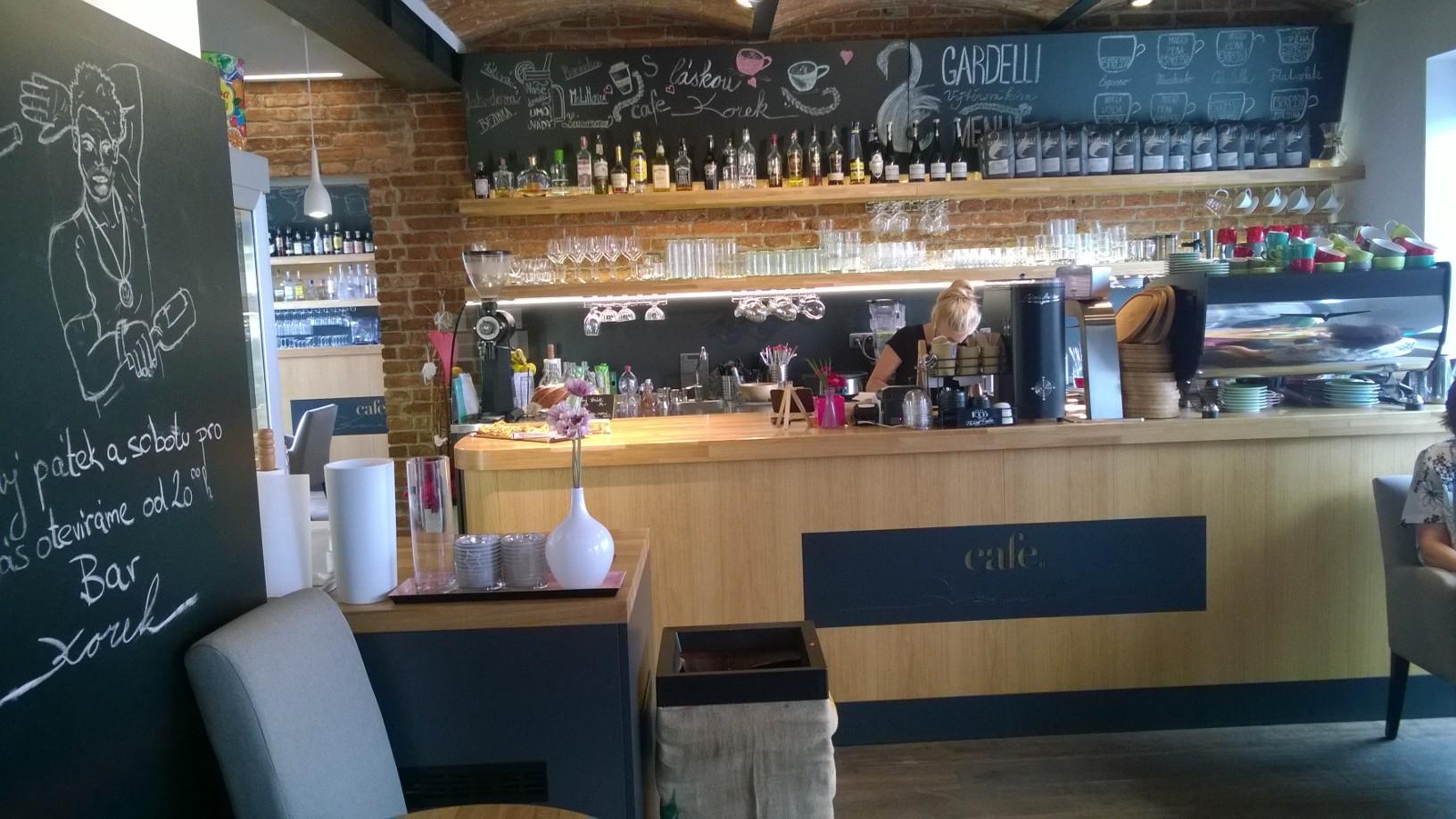 Cafe Korek v Klášterci nad Ohří