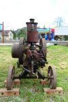 FOTOGALERIE: První ročník přehlídky historických traktorů ve Dneboze